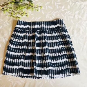 Loft Ikat Print Mini Skirt With Pockets